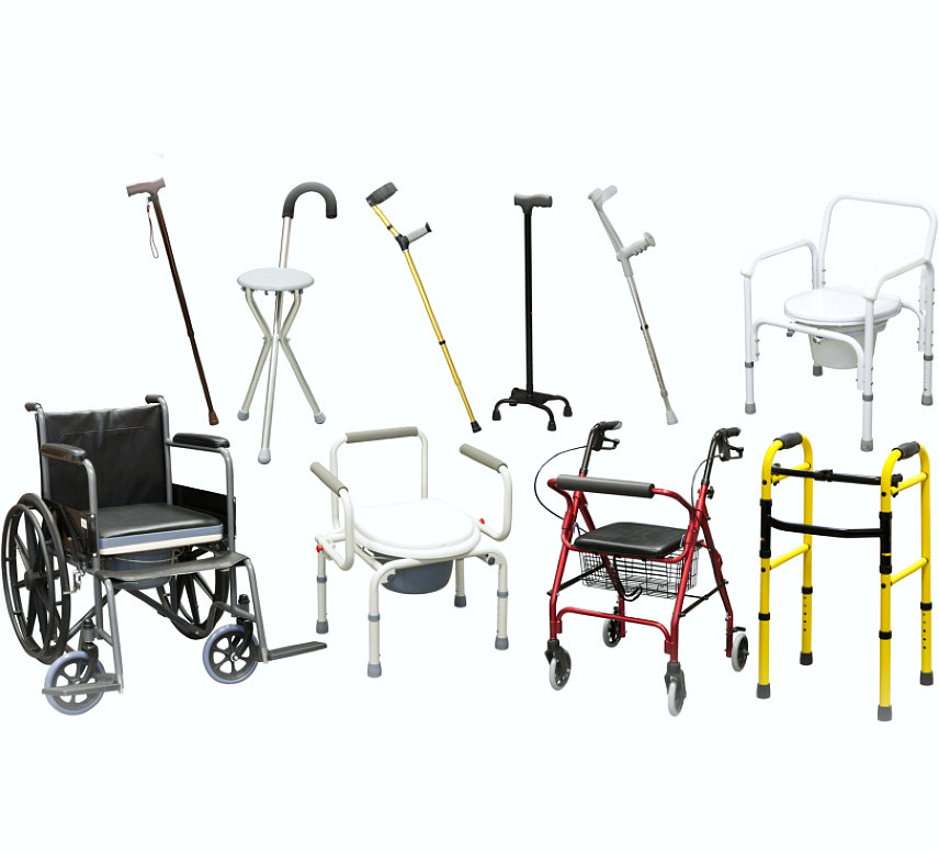 wheelchair, walker and other accessories